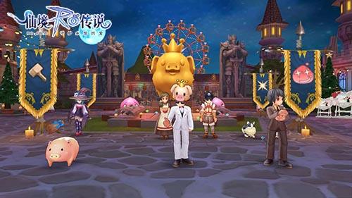 仙境传说ro手游 B格猫皇家庆典二